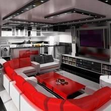 Фотография: Гостиная в стиле , Дизайн интерьера, Цвет в интерьере – фото на InMyRoom.ru