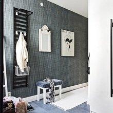 Фотография: Прихожая в стиле Скандинавский, Малогабаритная квартира, Квартира, Цвет в интерьере, Дома и квартиры – фото на InMyRoom.ru