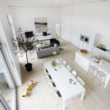 Фото из портфолио Фантастическая квартира с видом на Темзу – фотографии дизайна интерьеров на InMyRoom.ru