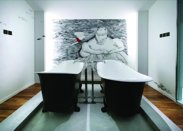 Фотография: Ванная в стиле Эклектика, Отель, Гид – фото на INMYROOM
