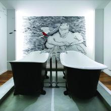 Фотография: Ванная в стиле Эклектика, Отель, Гид – фото на InMyRoom.ru