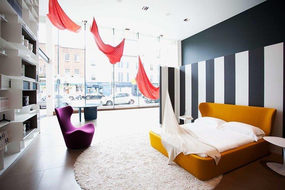 Фотография: Спальня в стиле Скандинавский, Современный, Эклектика, Индустрия, События, Лондон, B&B Italia – фото на InMyRoom.ru