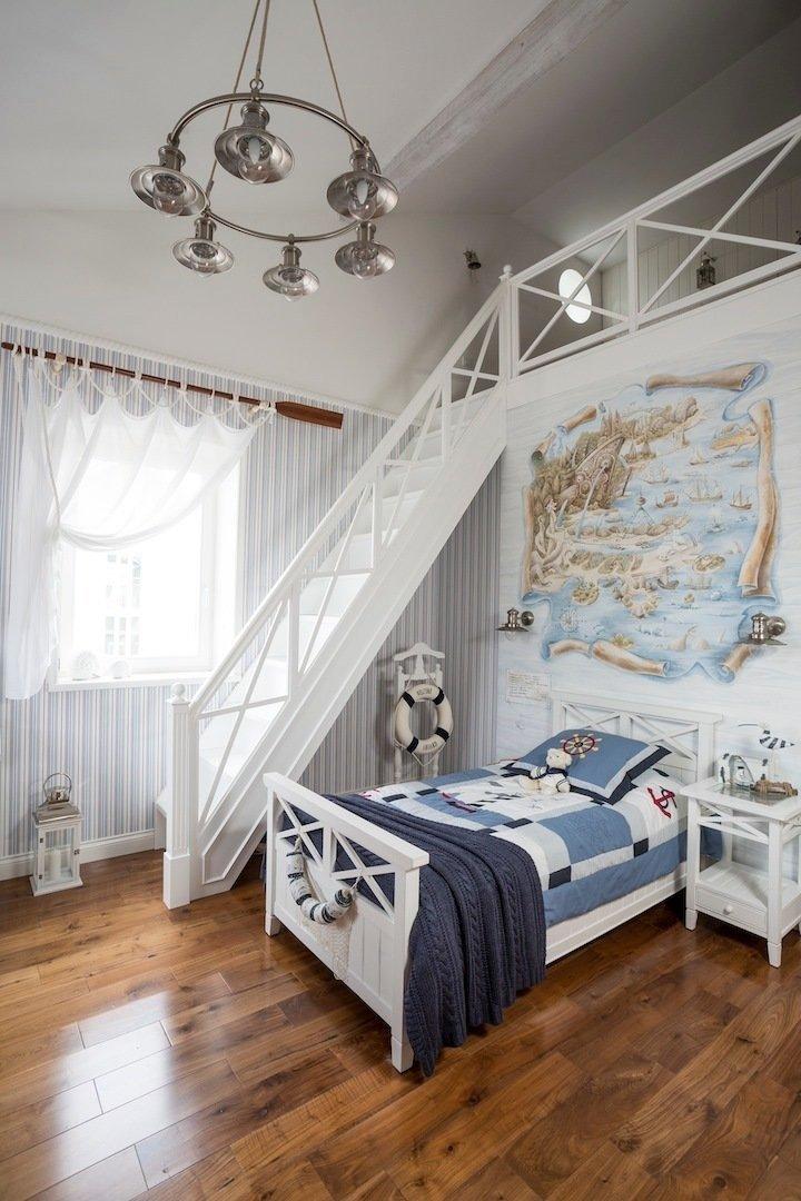 Фотография: Детская в стиле Прованс и Кантри, Дом, Дома и квартиры – фото на InMyRoom.ru
