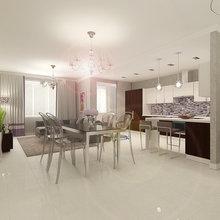 Фото из портфолио Дизайн-проект для 2-комнатной квартиры – фотографии дизайна интерьеров на InMyRoom.ru