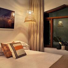 Фотография: Спальня в стиле Современный, Эко, Декор интерьера, Мебель и свет, Светильник – фото на InMyRoom.ru