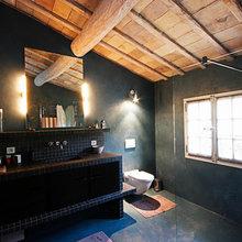 Фотография: Ванная в стиле Лофт, Эклектика, Дом, Франция, Дома и квартиры, Прованс – фото на InMyRoom.ru