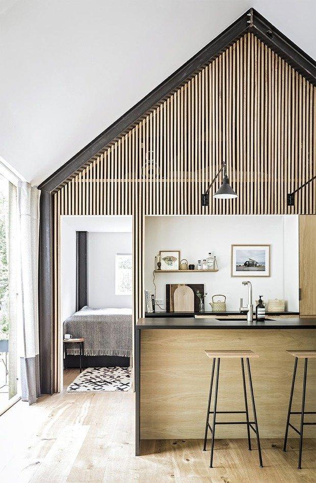 Фотография: Кухня и столовая в стиле Эко, Дом, Дания, Дача, Дом и дача – фото на INMYROOM