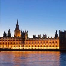 """Триптих в спальню """"Вид на Лондон"""""""