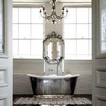 Фотография: Ванная в стиле Кантри, Декор интерьера, Дом, Декор дома, Цвет в интерьере – фото на InMyRoom.ru