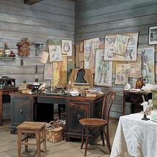 Фотография: Офис в стиле Кантри, Декор интерьера, Мебель и свет, Деревенский – фото на InMyRoom.ru
