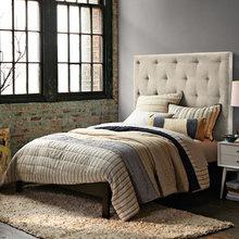 Фотография: Спальня в стиле Классический, Лофт, Современный – фото на InMyRoom.ru