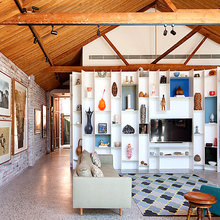 Фото из портфолио Архитектурные метаморфозы : превращение склада в комфортное жильё – фотографии дизайна интерьеров на InMyRoom.ru