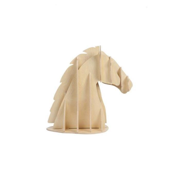 "Декоративная голова лошади ""Vixen Light Brown"""