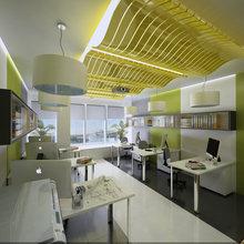 Фото из портфолио Офисное помещение в здании на набережной реки Дон   – фотографии дизайна интерьеров на InMyRoom.ru