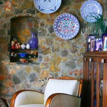 Фотография: Декор в стиле Кантри, Современный, Декор интерьера, Мебель и свет, Кресло – фото на InMyRoom.ru