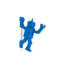 Магнитный крючок для холодильника robohook синий