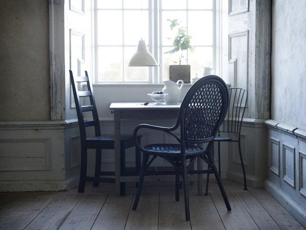 Фотография: Кухня и столовая в стиле Прованс и Кантри, Индустрия, Новости, IKEA, Ткани, Кресло, Ваза, Стулья, Постеры, Принты, Плетеная мебель – фото на InMyRoom.ru