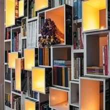 Фотография: Декор в стиле Лофт, Декор интерьера, Декор дома, Библиотека – фото на InMyRoom.ru