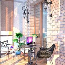 Фотография: Балкон, Терраса в стиле Современный, Декор интерьера, Квартира, Дома и квартиры, Проект недели, SLV – фото на InMyRoom.ru
