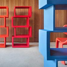 Фотография: Мебель и свет в стиле Хай-тек, Декор интерьера, Цвет в интерьере, Белый – фото на InMyRoom.ru