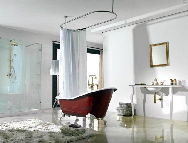 Фотография: Ванная в стиле Классический, Эклектика, Интерьер комнат – фото на InMyRoom.ru
