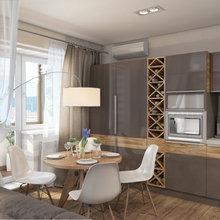 Фотография: Кухня и столовая в стиле Современный, Декор интерьера, Квартира, Дома и квартиры, Проект недели, Ligne Roset – фото на InMyRoom.ru