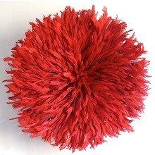Камерунская шляпа  большая (75 см) Красная