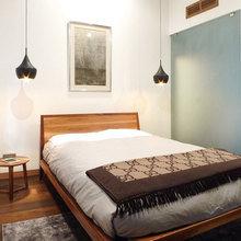 Фотография: Спальня в стиле Скандинавский, Дом, Дома и квартиры, Умный дом – фото на InMyRoom.ru