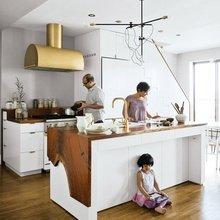 Фото из портфолио Кухня в гостинной – фотографии дизайна интерьеров на INMYROOM