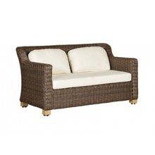 """диван двухместный """"Либрари"""" коричневый"""