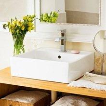 Фотография: Ванная в стиле Кантри, Современный, Декор интерьера, DIY, Дом, Системы хранения – фото на InMyRoom.ru