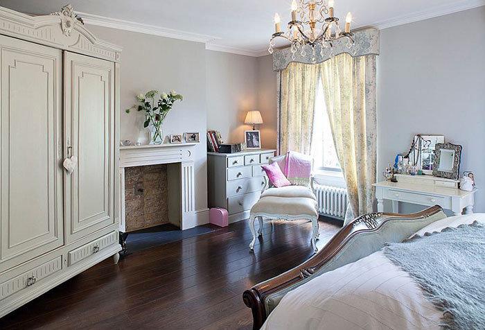 Спальный пол из дерева пробки или ламината