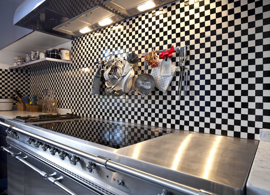 Фотография: Кухня и столовая в стиле Прованс и Кантри, Современный, Декор интерьера, Квартира, Дом, Дизайн интерьера, Цвет в интерьере – фото на InMyRoom.ru
