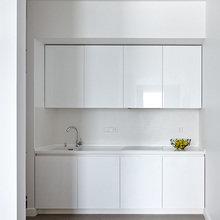 Фотография: Кухня и столовая в стиле Хай-тек, Квартира, BoConcept, Дома и квартиры, Проект недели – фото на InMyRoom.ru