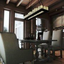 Фото из портфолио Коттедж из клееного бруса – фотографии дизайна интерьеров на INMYROOM