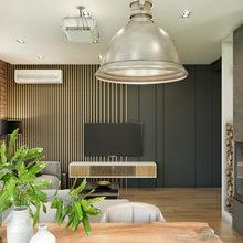 Фото из портфолио Гостинная кухня Loft – фотографии дизайна интерьеров на INMYROOM