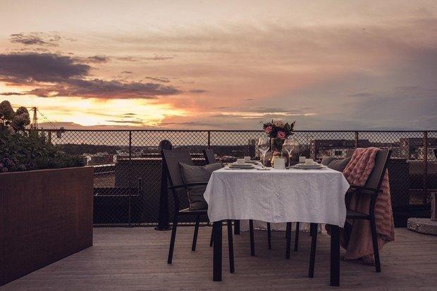 Фотография: Терраса в стиле Современный, Скандинавский, Квартира, Швеция, Стокгольм, Гид, дизайн-гид, малогабаритка, до 40 метров – фото на INMYROOM
