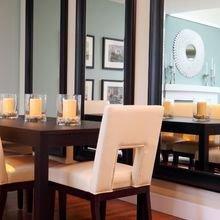 Фотография: Кухня и столовая в стиле Классический, Эклектика, Декор интерьера, DIY, Малогабаритная квартира, Квартира, Белый, Бежевый, Серый – фото на InMyRoom.ru