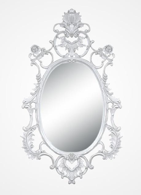 Купить Настенное зеркало в раме из дерева махагони, inmyroom, Индонезия