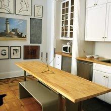 Фото из портфолио Интерьер с богатой историей и интересными архитектурными деталями – фотографии дизайна интерьеров на InMyRoom.ru