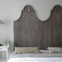 Фотография: Спальня в стиле Кантри, Современный, Декор интерьера, Интерьер комнат, Цвет в интерьере, Белый – фото на InMyRoom.ru