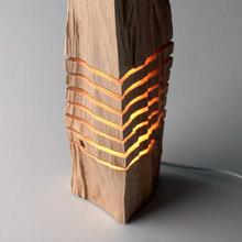 Фото из портфолио Светильники, скульптуры, декор и т.п. из натурального дерева – фотографии дизайна интерьеров на INMYROOM