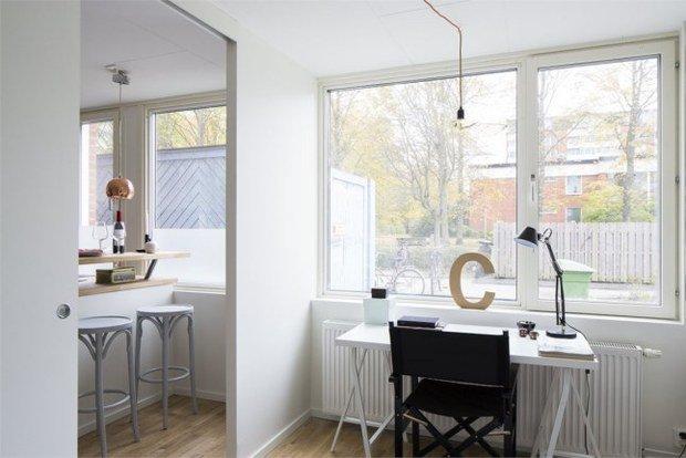 Фотография:  в стиле , Скандинавский, Малогабаритная квартира, Квартира, Планировки, Хранение – фото на InMyRoom.ru