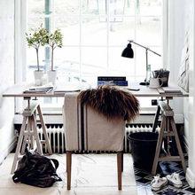 Фотография: Кабинет в стиле Скандинавский, Декор интерьера, Мебель и свет, Декор дома – фото на InMyRoom.ru