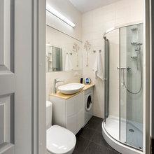 Фотография: Ванная в стиле Современный, Малогабаритная квартира, Квартира, Дома и квартиры, IKEA, Проект недели – фото на InMyRoom.ru