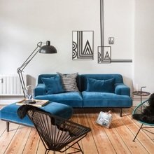 Фотография: Гостиная в стиле Современный, Декор интерьера, DIY, Декор дома, Фотообои – фото на InMyRoom.ru