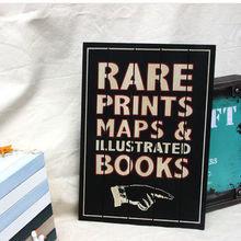 """""""Rare prints"""" панель деревянная"""