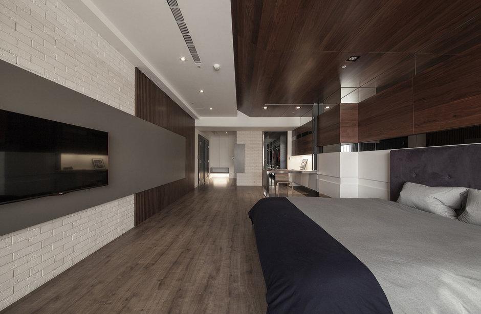 Фотография: Спальня в стиле Современный, Дом, Дома и квартиры, Проект недели – фото на InMyRoom.ru