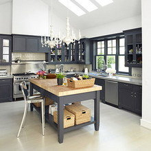 Фотография: Кухня и столовая в стиле Кантри, Дома и квартиры, Интерьеры звезд – фото на InMyRoom.ru