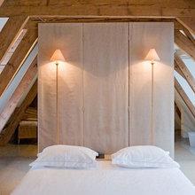 Фотография: Спальня в стиле Минимализм, Эко, Дома и квартиры, Городские места, Отель – фото на InMyRoom.ru